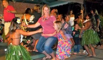 Learning hula