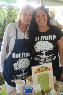 This group saves fruit grown in yards, collecting it, distirbuting it to poor