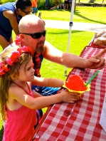 Shave Ice on Fourth of July