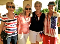 PATRIOTIC CONDO LADIES