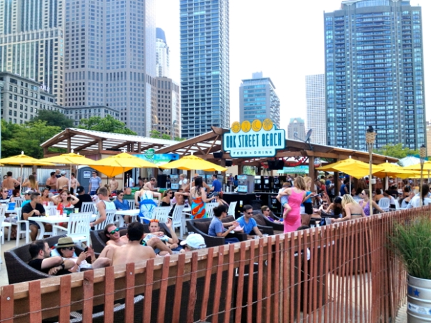 North Avenue Beach bar