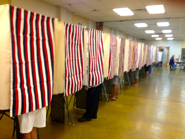 THE JOY OF VOTING: Lahaina, Maui Hawaii