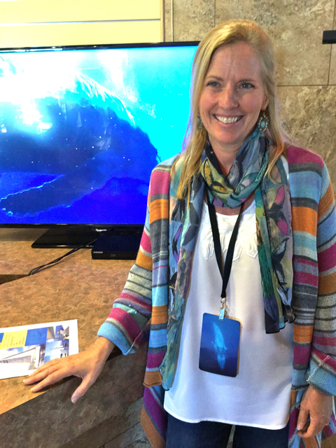 Megan, one of the four founders of Whale Trust