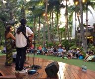 Outside Royal Hawaiian