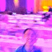 A dancing VIP guest