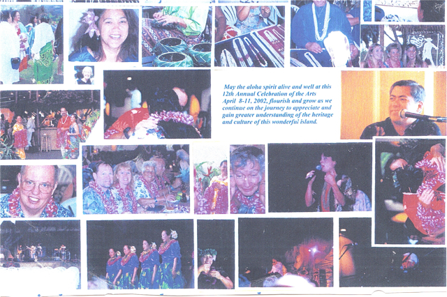 The celebration in 2002. Voices of Maui Talk Story, LLC photos