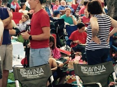 Sunday. Raviina in the suburbs for Chicago Symphony playing Fantasia with film