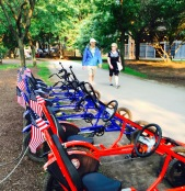 River path bikes ready for the 4th