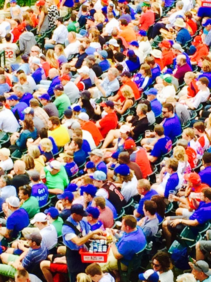 Fans in August