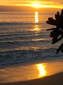 A sunset reflection - 1