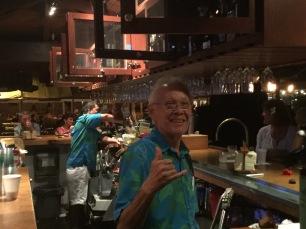 Dale on the job at KBH