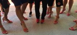 These legs test hight heels